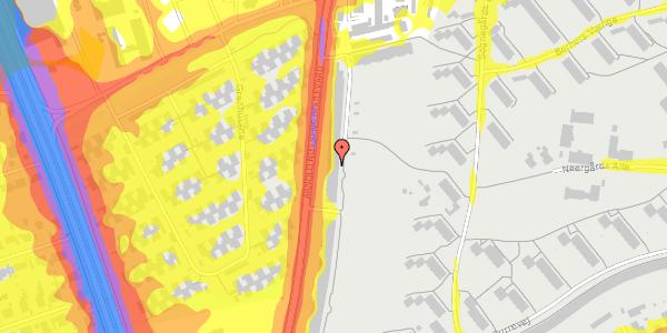 Trafikstøjkort på Arnold Nielsens Boulevard 123, 1. tv, 2650 Hvidovre