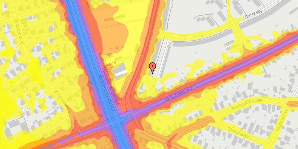 Trafikstøjkort på Arnold Nielsens Boulevard 177, 3. tv, 2650 Hvidovre