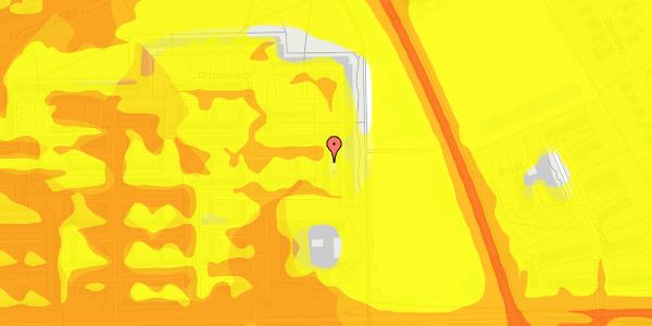 Trafikstøjkort på Blytækkerporten 30, 2650 Hvidovre