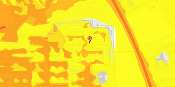 Trafikstøjkort på Blytækkerporten 74, 2650 Hvidovre
