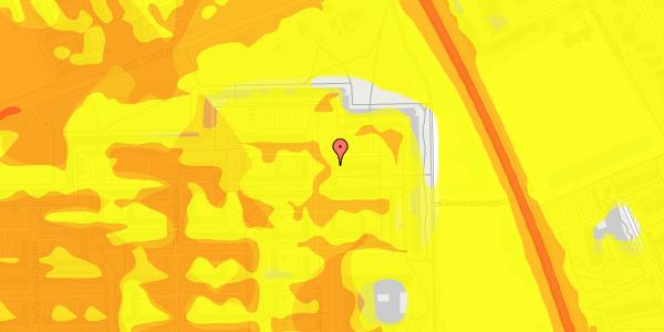 Trafikstøjkort på Blytækkerporten 76, 2650 Hvidovre
