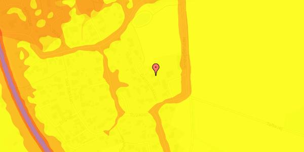 Trafikstøjkort på Gartnerbakken 6, 2625 Vallensbæk