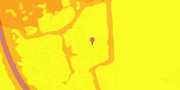 Trafikstøjkort på Gartnerbakken 8, 2625 Vallensbæk