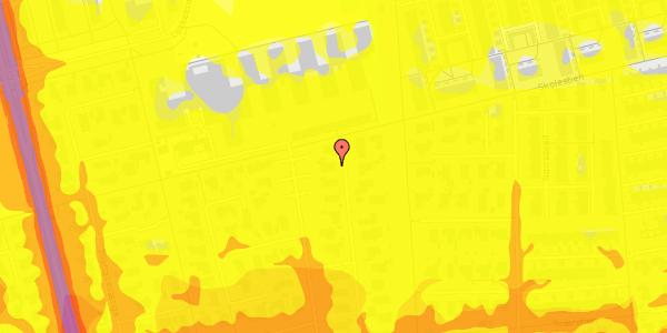 Trafikstøjkort på Horsbred 162, 2625 Vallensbæk