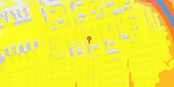 Trafikstøjkort på Hyrdeengen 255, 2625 Vallensbæk