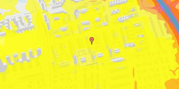 Trafikstøjkort på Hyrdeengen 267, 2625 Vallensbæk