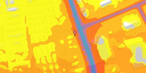 Trafikstøjkort på Nordmarksvænge 3, 2625 Vallensbæk