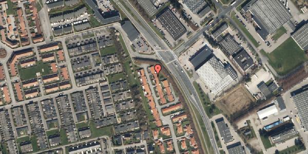 Trafikstøjkort på Nordmarksvænge 44, 2625 Vallensbæk