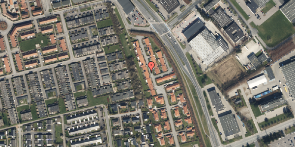 Trafikstøjkort på Nordmarksvænge 62, 2625 Vallensbæk