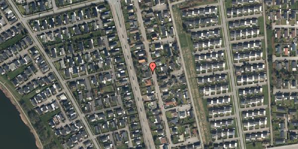 Trafikstøjkort på Pilehavevænge 22, 2625 Vallensbæk