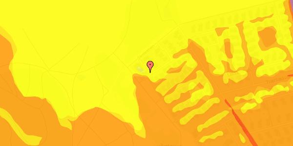 Trafikstøjkort på Rendsagervej 253, 2625 Vallensbæk