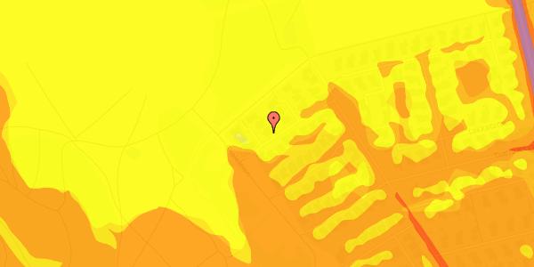 Trafikstøjkort på Rendsagervej 263, 2625 Vallensbæk