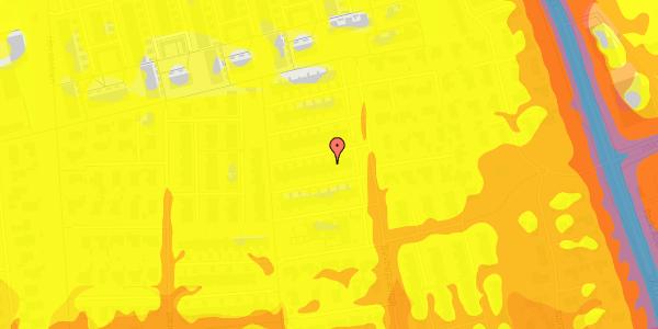 Trafikstøjkort på Syvhøjvænge 187, 2625 Vallensbæk
