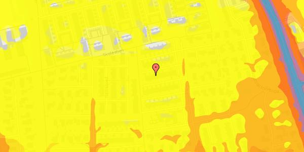 Trafikstøjkort på Syvhøjvænge 209, 2625 Vallensbæk