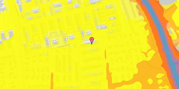 Trafikstøjkort på Syvhøjvænge 233, 2625 Vallensbæk
