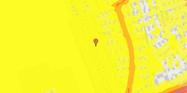 Trafikstøjkort på Hf. Dahlia 37, 2650 Hvidovre