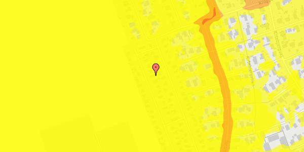 Trafikstøjkort på Hf. Dahlia 65, 2650 Hvidovre