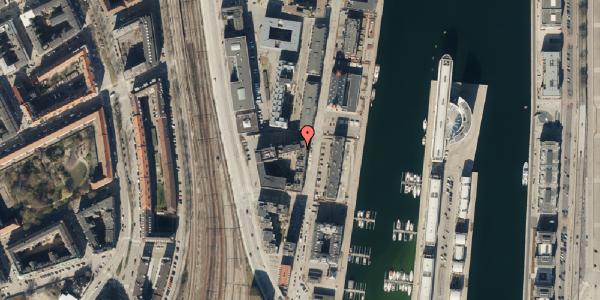Trafikstøjkort på Amerika Plads 3A, kl. 18, 2100 København Ø