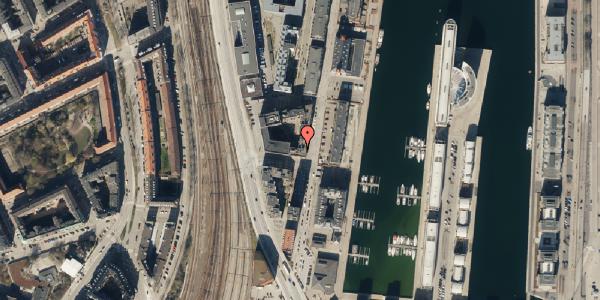 Trafikstøjkort på Amerika Plads 3D, kl. 48, 2100 København Ø