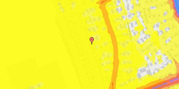 Trafikstøjkort på Hf. Dahlia 34, 2650 Hvidovre
