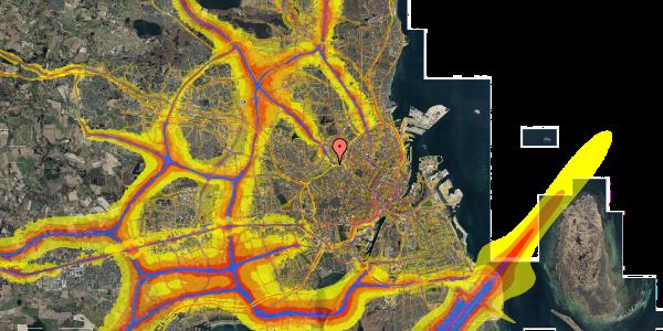 Trafikstøjkort på Rabarbervej 20, 1. 114, 2400 København NV