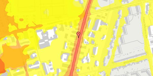 Trafikstøjkort på Arnold Nielsens Boulevard 64A, 1. , 2650 Hvidovre