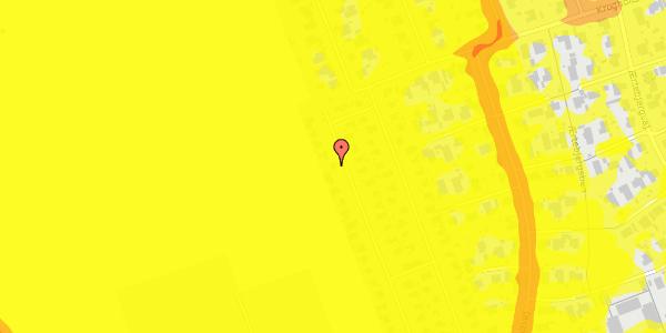 Trafikstøjkort på Hf. Dahlia 64, 2650 Hvidovre