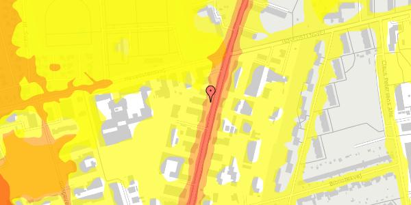 Trafikstøjkort på Arnold Nielsens Boulevard 62B, 1. , 2650 Hvidovre