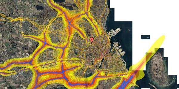 Trafikstøjkort på Rabarbervej 20, 1. 108, 2400 København NV