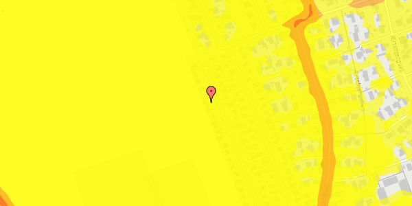 Trafikstøjkort på Hf. Dahlia 66, 2650 Hvidovre