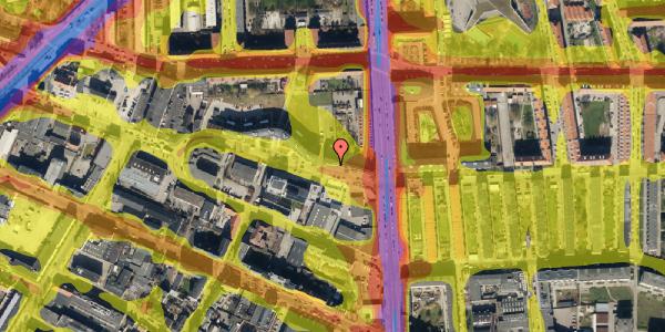 Trafikstøjkort på Dortheavej 2, 4. 16, 2400 København NV