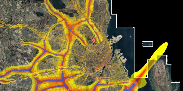 Trafikstøjkort på Dortheavej 17, 1. 7, 2400 København NV