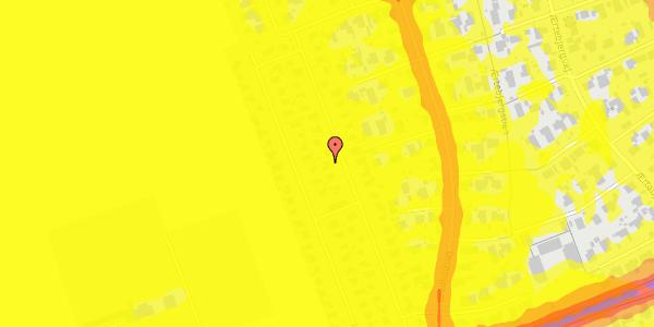 Trafikstøjkort på Hf. Dahlia 33, 2650 Hvidovre