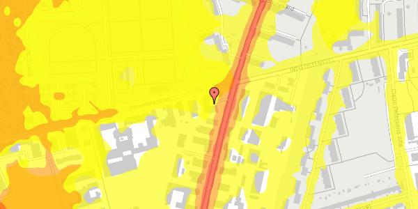 Trafikstøjkort på Arnold Nielsens Boulevard 60, 2650 Hvidovre