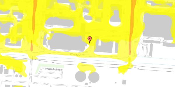 Trafikstøjkort på Jernholmen 48K, 2650 Hvidovre