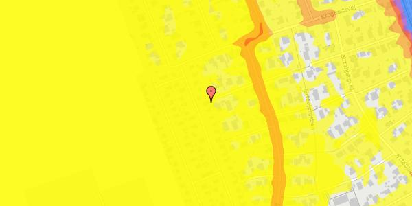 Trafikstøjkort på Hf. Dahlia 44, 2650 Hvidovre