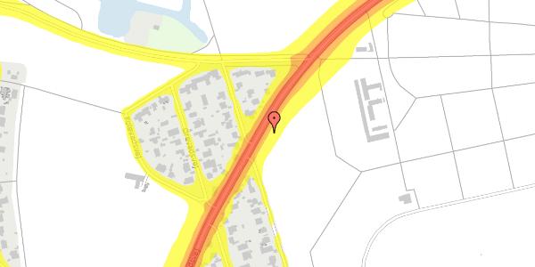 Trafikstøjkort på Rådvadsvej 56, 2400 København NV