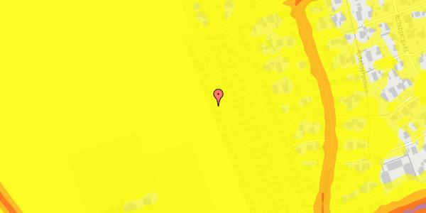 Trafikstøjkort på Hf. Dahlia 72, 2650 Hvidovre