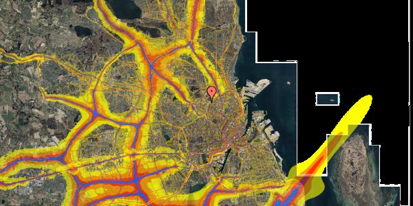 Trafikstøjkort på Bisiddervej 37, 2. th, 2400 København NV