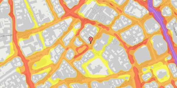 Trafikstøjkort på Gråbrødretorv 2, kl. , 1154 København K