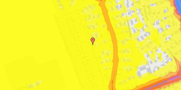Trafikstøjkort på Hf. Dahlia 32, 2650 Hvidovre