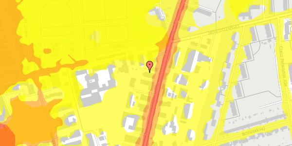 Trafikstøjkort på Arnold Nielsens Boulevard 62C, 2650 Hvidovre