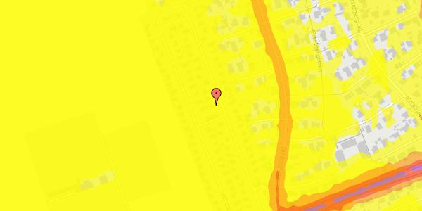 Trafikstøjkort på Hf. Dahlia 29, 2650 Hvidovre