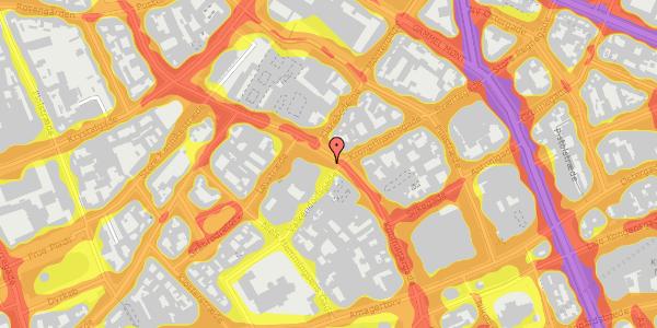 Trafikstøjkort på Købmagergade 33, 1150 København K