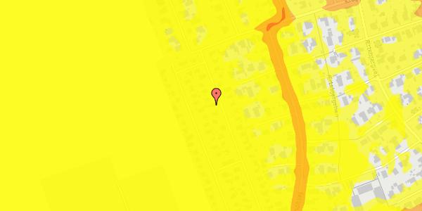 Trafikstøjkort på Hf. Dahlia 41, 2650 Hvidovre