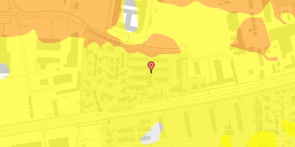 Trafikstøjkort på Nordengen 33, 2630 Taastrup