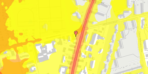 Trafikstøjkort på Arnold Nielsens Boulevard 60, st. , 2650 Hvidovre