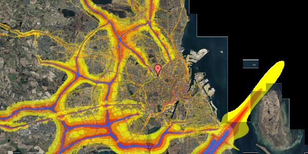 Trafikstøjkort på Rabarbervej 20, 1. 104, 2400 København NV