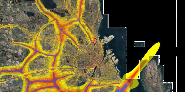 Trafikstøjkort på Jagtvej 169B, 4. tv, 2100 København Ø