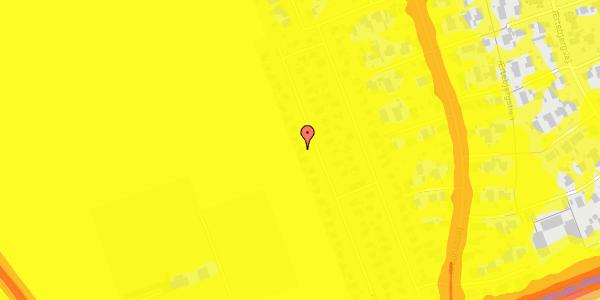 Trafikstøjkort på Hf. Dahlia 74, 2650 Hvidovre